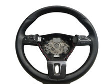 *VW GOLF MK6 2009-2013 3 SPOKE LEATHER MULTIFUNCTION STEERING WHEEL 3C8419091BE