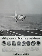 6/1976 PUB LOCKHEED S-3A VIKING US NAVY SQUADRONS ASW VS 21 22 28 29 31 32 33 AD