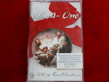 ALL 4 ONE~ AN ALL 4 ONE CHRISTMAS~ SEALED~ NEW~ NOT UESD~ ~ SOUL CASSETTE