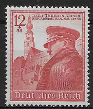 Nazi Germany Third Reich Mi# 691 MH Hitler's 50th Birthday 1939 *