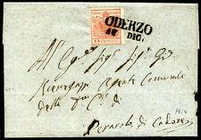 ASI Lombardo Veneto 1851 n. 5 su lettera (m1228)