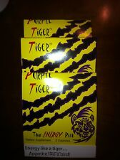 PURPLE TIGER ENERGY PILLS - Energy and Weight loss product  3 Pack Sample
