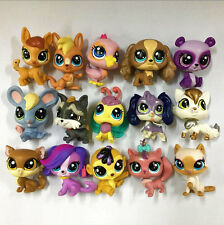 Xmas Random 10pcs LPS Original Littlest Pet Shop Figure Baby Girl Boy Doll Toy