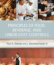 Principles of Food, Beverage, and Labor Cost Controls, 9th Edition CIA CULINARY