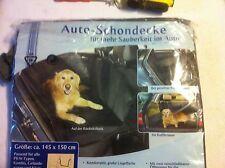 Auto Schutz Schondecke Tiere Hunde Decke Größe 1,50x1,45m  Farbe Anthrazit