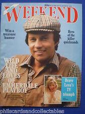 Weekend Magazine - Frazer Hines, Lena Zavaroni     31st July 1985