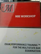 2017 Marino MBE workshop MBE Practice test and answers