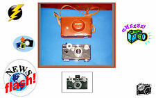 VINTAGE ARGUS 35MM COLOR MATIC CAMERA. WITH ORIGINAL LEATHER CASE. USA SELLER.