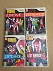 Just Dance 1,2,3 and 4 Nintendo Wii PAL + FAST & FREE DELIVERY
