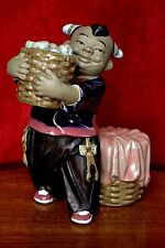 Vintage Chinese Pottery Figurine
