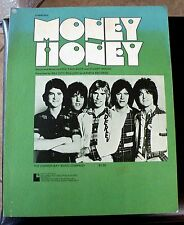 The Bay City Rollers Vintage Sheet Music Money Honey 1976 FREE SHIPPING !