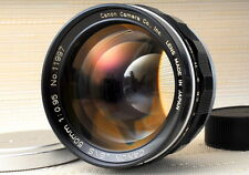 Canon 50mm f0.95 Dream Lens for leica sony a7 mount