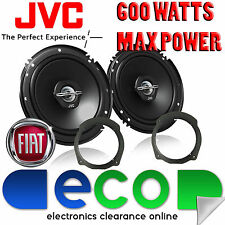 Fiat Stilo 2001-2014 JVC 17cm 6.5 Inch 600 Watts 2 Way Front Door Car Speakers