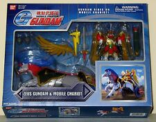 RARE BANDAI 2002 ZEUS GUNDAM AND MOBILE CHARIOT ACTION FIGURE PLAYSET MIB