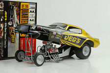 1970 chevrolet chevy camaro quarter mile dragster funny car 1:18 auto World Ertl