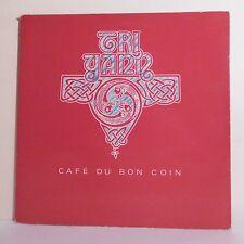 """33T TRI YANN Disque Vinyle LP 12"""" CAFE DU BON COIN Celtique MARZELLE 814276-1"""
