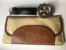 Vintage Hamilton LLBean Automatic Chronograph Watch Valjoux 7750 Original Case