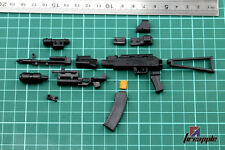"1/6 Scale Weapon Model 4D Assembled AK74 Gun Model Toy For 12"" Soldier Figure"