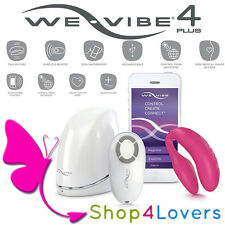 Vibratore design hi-tech We vibe 4 plus app for Couples Pink Rosa - We-Vibe IV