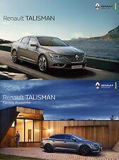 Two Deux Renault Talisman 12 / 2015 catalogue brochure Poland + Initiale Paris