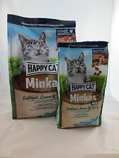 Happy Cat Medium Minkas Geflügel, Lamm & Fisch 10 kg + 2 x 1,5 kg *Gratis*