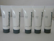 5x Dermalogica Active Moist Lot of 5 0.24 oz Each Travel/Sample
