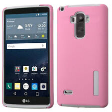 ASMYNA Pink/Gray Hybird case for LG LS770 (G Stylo)