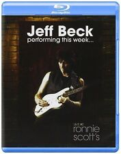 JEFF BECK - PERFORMING THIS WEEK... LIVE AT RONNIE SCOTT'S  BLU-RAY NEU