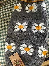 NEW Chilly Dog Daisy Dog Sweater  M
