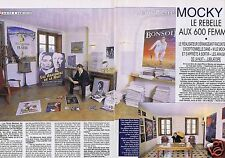 Coupure de presse Clipping 2002 Jean-Pierre Mocky   (4 pages)
