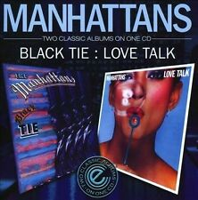 Black Tie/Love Talk by The Manhattans (CD, Jul-2010, Expansion (UK))