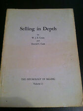 Selling in Depth by W.J.E. Crissy and Harold C. Cash (paperback) store#2247