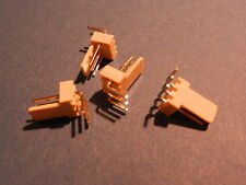 Stiftleiste  3-polig gewinkelt RM 2.54mm  100 Stck.mit Lasche AM Serie