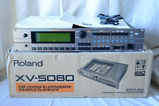 Roland XV-5080 128-Voice Synthesizer Module w/ box, 32mb Flashcard, 64mb simm