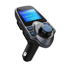 FM Transmitter VicTsing Car MP3 Player FM Transmitter Bluetooth Handsfree Car...
