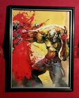Splatterhouse Rick Taylor Mask Horror Game Framed Art Print Memorabilia Gift