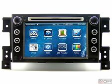 BT Stereo Car CD Radio DVD Player GPS Navigation For Suzuki Grand Vitara Escudo
