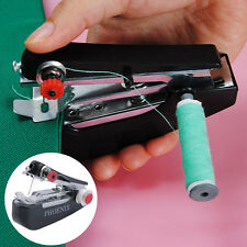 Home Stitch Clothes Pocket Mini Handheld Manual Sewing Machine Sergers BE