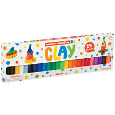 Toysmith - RAINBOW MODELING CLAY PACK (24 Colors) - New