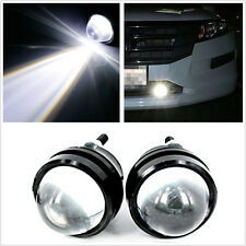 2X 6000K 6K HID Highlight fog lights reverse lamp Bull Eye LED Projector Light