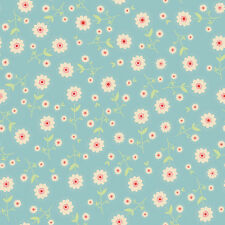 Delighted! Blue Floral by The Quilted Fish for Riley Blake, 1/2 yard