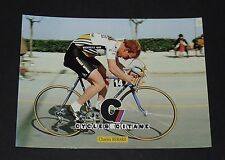 CPA CARTE POSTALE 1982 CYCLISME CHARLY BERARD RENAULT-ELF CYCLES GITANE
