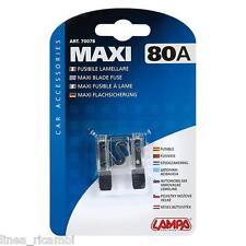 70078  Fusibile lamellare Maxi - 80A