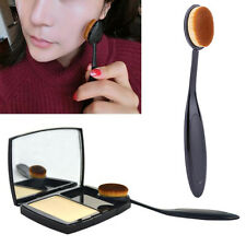 Pro Oval Brush Makeup Tool Cosmetic Foundation Liquid Cream Powder Blusher Hot