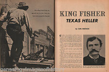 King Fisher - Texas Sheriff +Family-Altar,Armstrong,Burton,Enlish,Lee,Obenchain,
