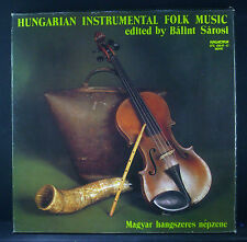 3erLP-Set  HUNGARIAN INSTRUMENTAL FOLK MUSIC - edited by Balint Sarosi, nm