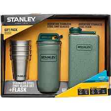 Stanley Stanley Stainless Steel Shots + Flask Gift Set, 10-01883-001