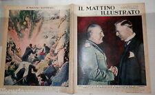 1939 Chamberlain e Mussolini Stoccarda Invenzioni Ermete Incendio a Parigi Roma