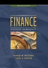 Finance: Introduction to Institutions