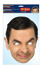 Mr. Bean Oficial 2d Tarjeta Partido Mascarilla Fancy Dress Up Rowan Atkinson